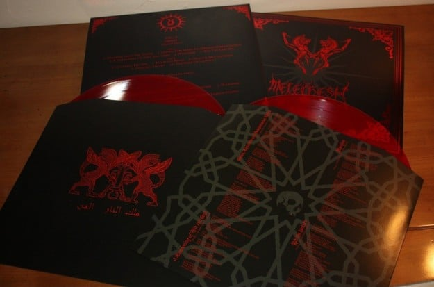 MELECHESH Djinn red LP