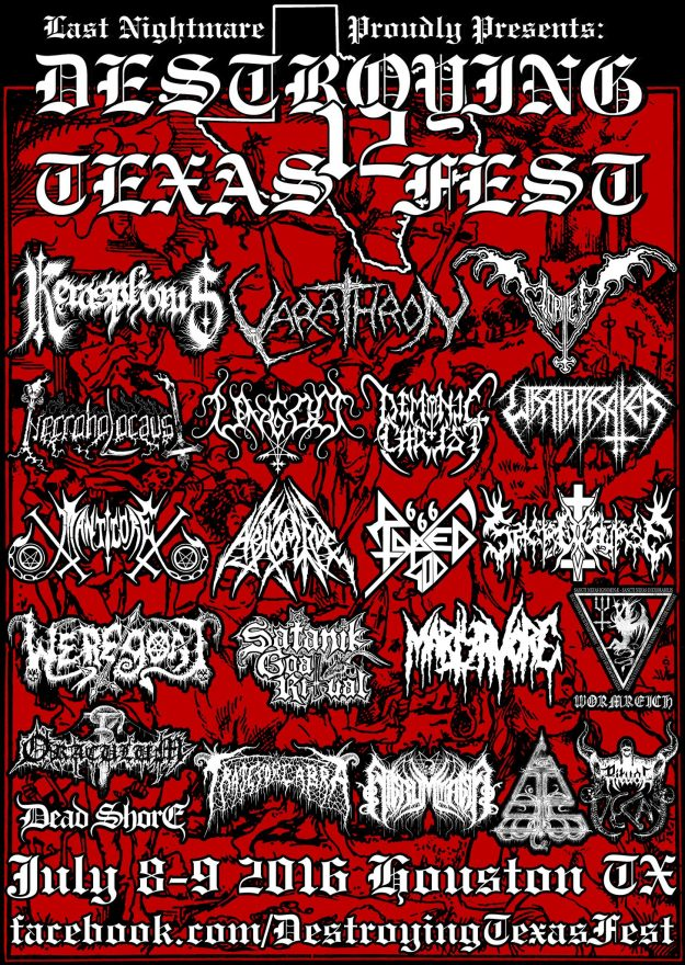 DESTROYING TEXAS FEST 12