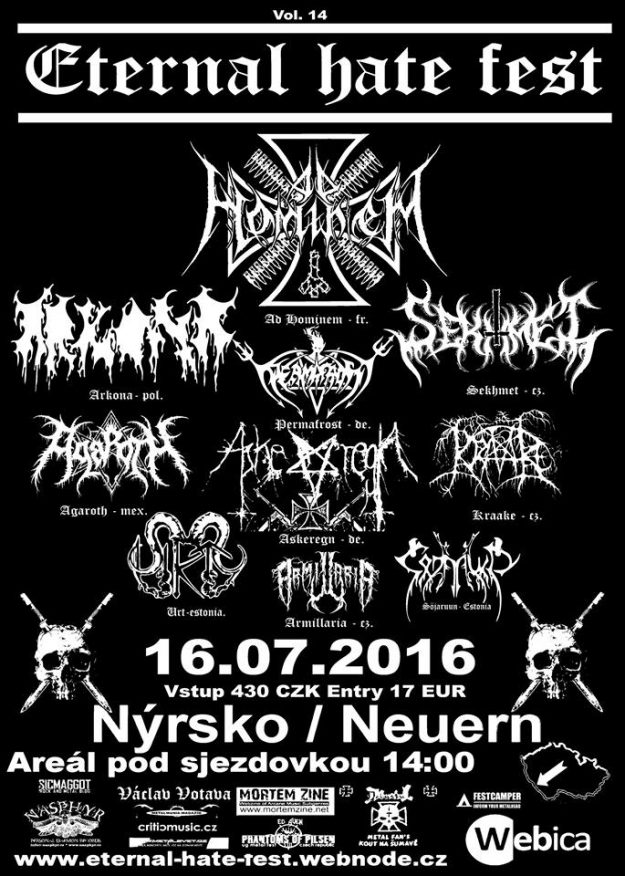 Eternal Hate Fest vol14