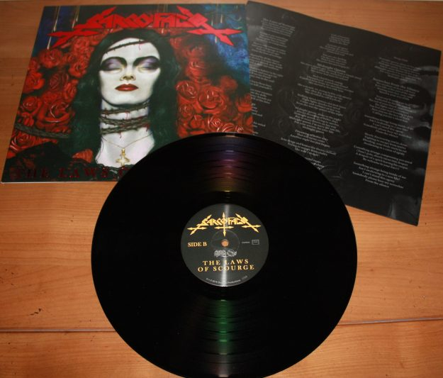 sarcofago_the laws black LP