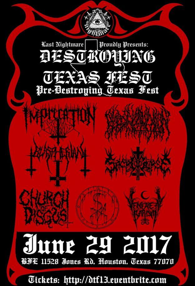 Destroying Metal Fest 13 flyer web