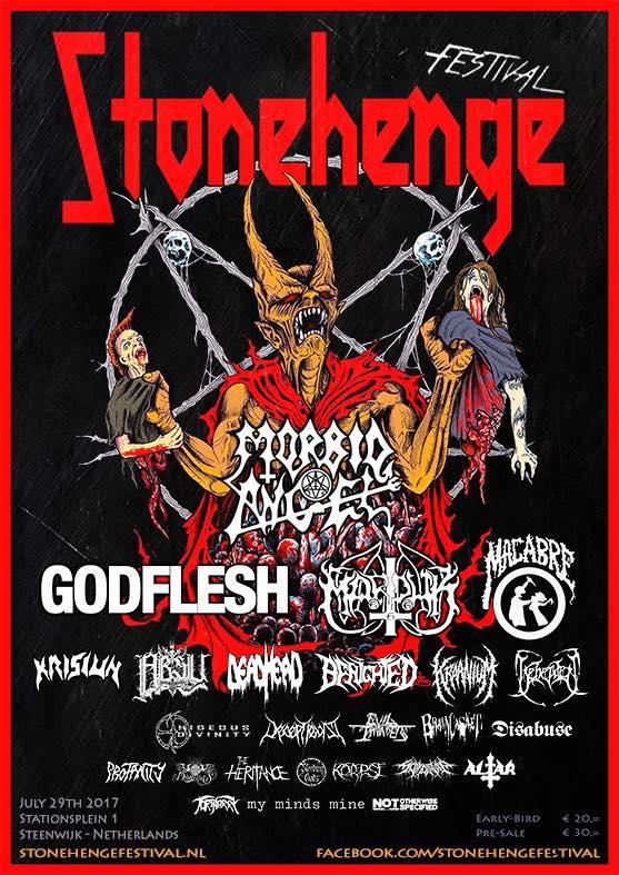 Stonehenge Festival flyer
