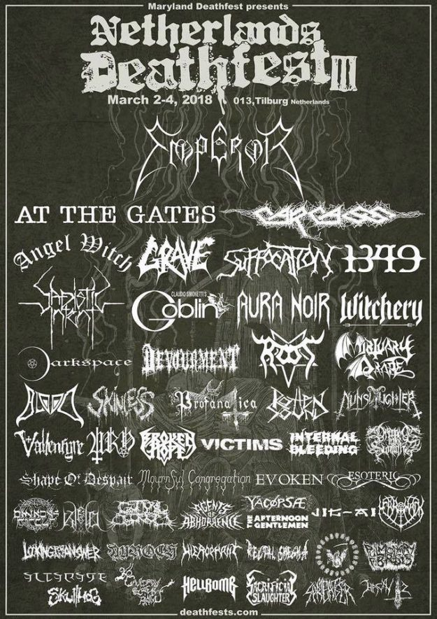 THE OMINOUS CIRCLE Netherlands Deathfest III