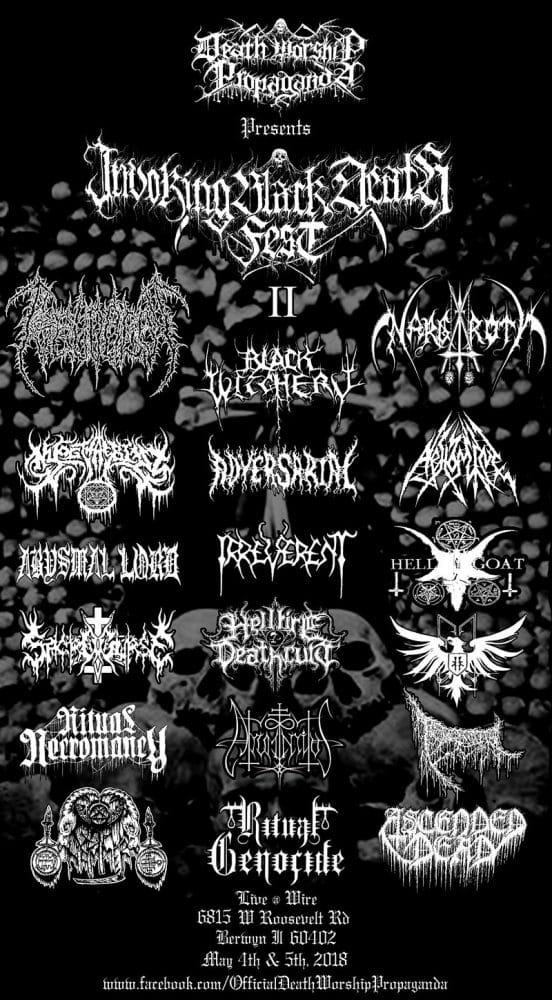 Invoking Black Death Fest II