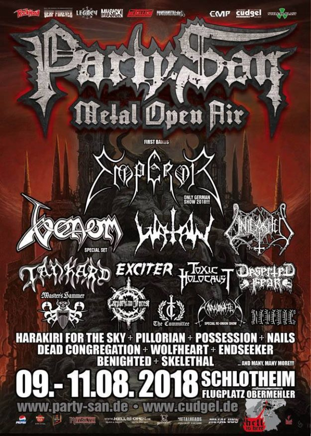 Party.San Metal Open Air 2018
