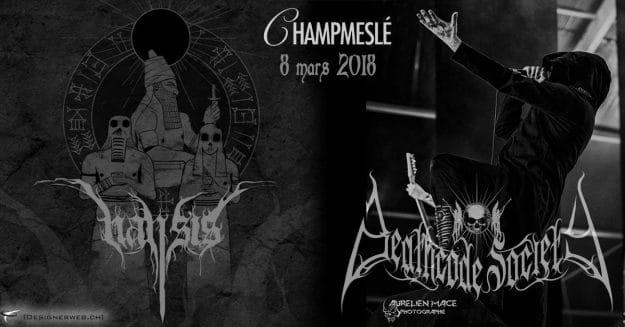 Apocalypse Black Metal Deathcode Society Nansis