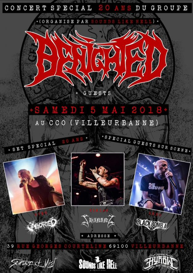 BENIGHTED 20 ans du groupe