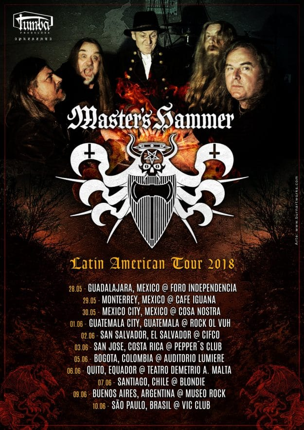 MASTER's HAMMER Latin American Tour