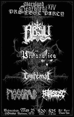 Maryland Deathfest - Pre Fest party